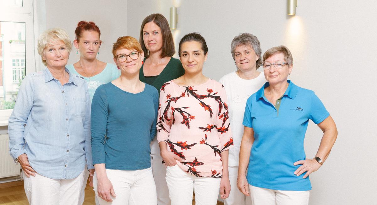 Team Praixis Flora. Frauenärztinnen in Pankow.